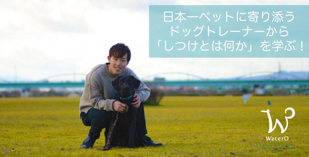 日本一ペットに寄り添うドッグトレーナーから「しつけとは何か」を学ぶ!